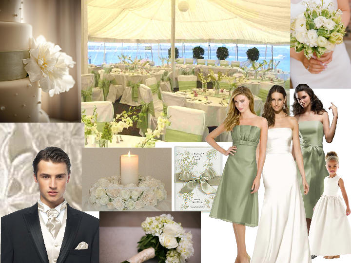 sage and ivory country wedding pantone wedding