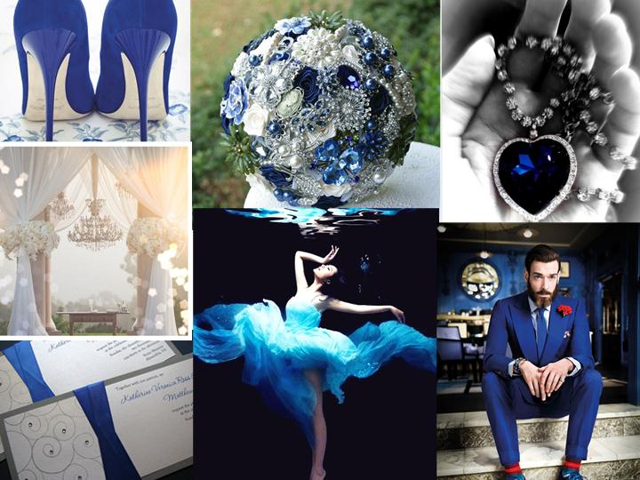 Blue Wedding Inpsiration