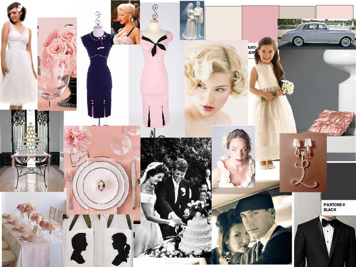 Are pink and black vintage entertaining question