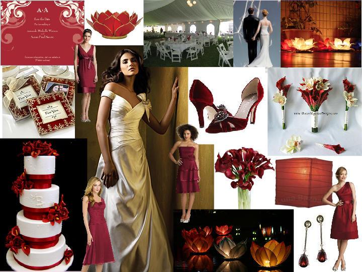 Claret Wedding Board Pantone Wedding Styleboard The