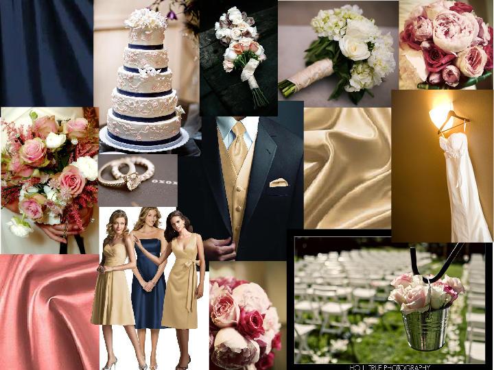 625951f479288 June Wedding <3 : PANTONE WEDDING Styleboard | The Dessy Group