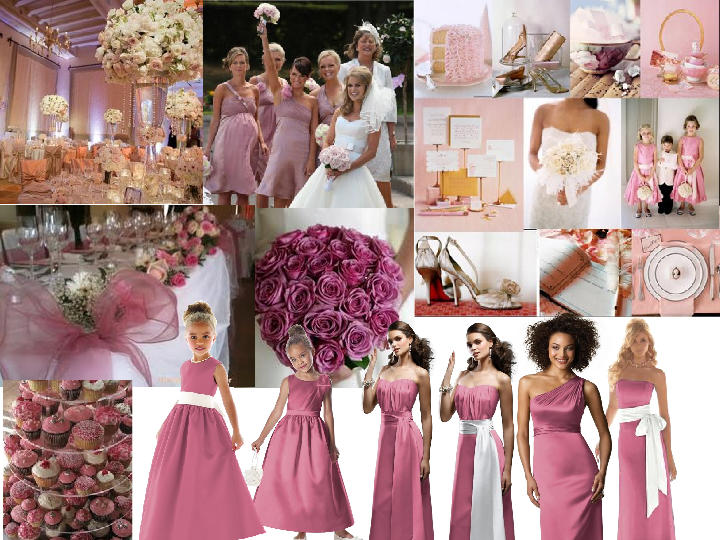 Dusky pink pantone wedding styleboard the dessy group for Dusky pink wedding dress