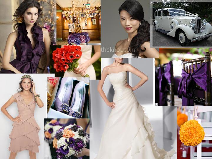 Peaches and plum september wedding ideas pantone wedding for Wedding themes for september