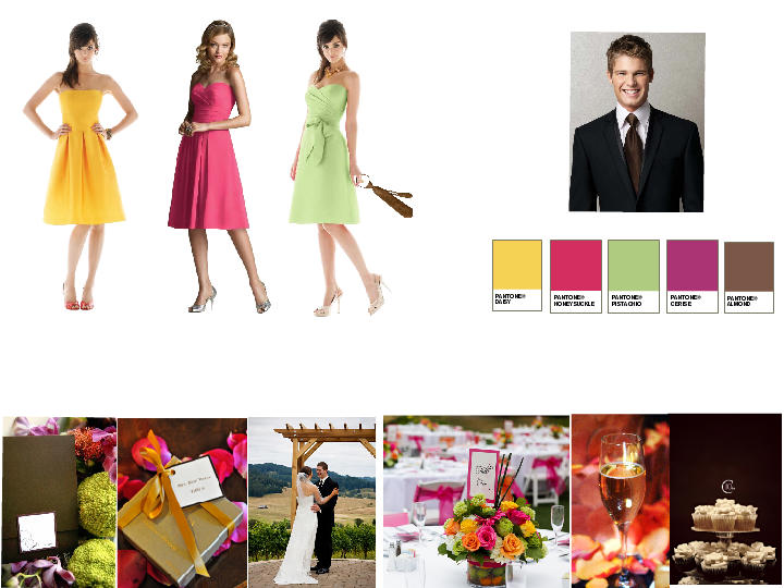 b26588b4d3e Mother of the Bride   PANTONE WEDDING Styleboard