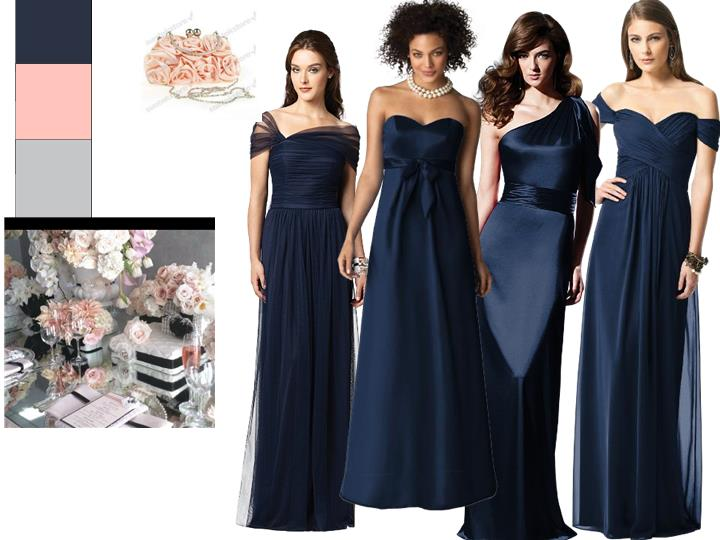 e45932df901 Bridesmaids board   PANTONE WEDDING Styleboard
